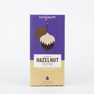 Loving Earth Hazelnut Mylk Chocolate 80g
