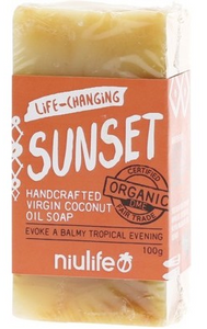 Niulife Organic Virgin Coconut Oil Soap - Turmeric (100g)