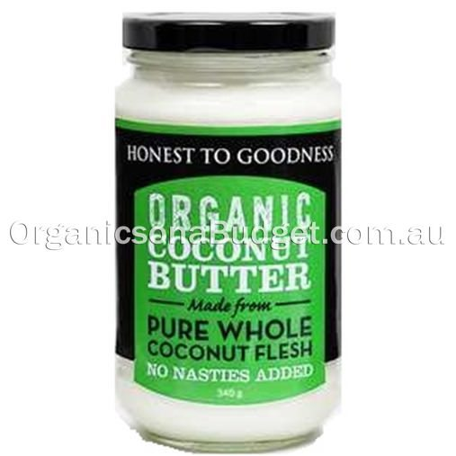 Honest To Goodness Organic Coconut Butter 340g