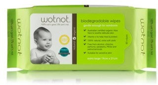 Wotnot Biodegradable 80 Wipes