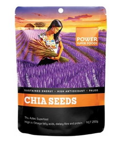 Power Super Foods Chia Power Black & White Seeds 250g 40% OFF
