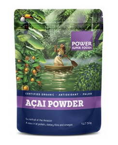 Power Super Foods Organic Acai Berry Powder 100g