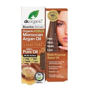 Dr Organic Moroccan Argan Oil Pure Oil 50ml