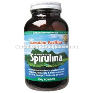 Green Nutritionals Spirulina Powder 100g