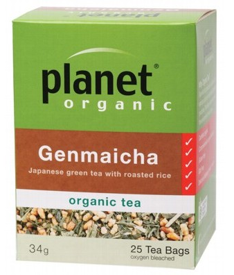 Planet Organic Herbal Tea Bags Genmaicha 25 bags