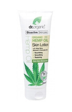 Dr Organic Hemp Oil Skin Lotion 200ml