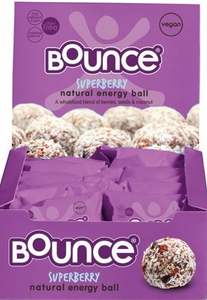 Bounce Energy Balls Superberry Box 12x49g