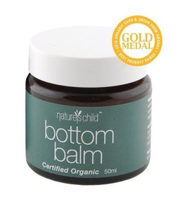 Nature's Child Organic Bottom Balm 50g