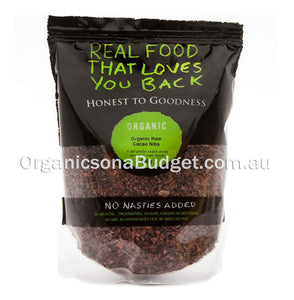 Honest To Goodness Organic Raw Cacao Nibs 900g