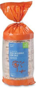 Ecor Organic Wholegrain Rice Cakes with Salt 200g