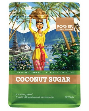 Power Super Foods Organic Coconut Palm Sugar 500g