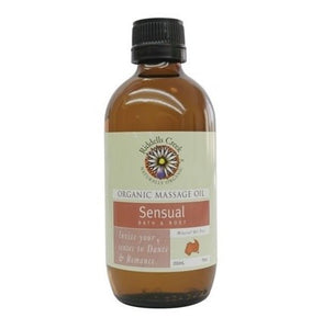 Riddells Creek Massage Oil Sensual 200ml