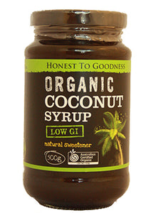 Honest To Goodness Organic Coconut Syrup 500g