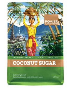 Power Super Foods Organic Coconut Palm Sugar 1kg