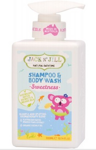 Jack N' Jill Shampoo & Body Wash Sweetness - 300ml