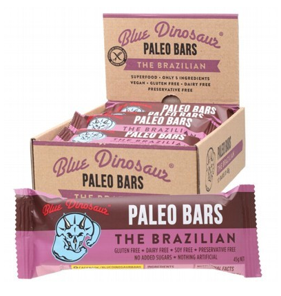 Blue Dinosaur The Brazilian (Paleo Bar) 12x45g