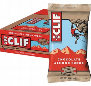 Clif Bar Blueberry Chocolate Almond Fudge Energy Bars - 12x68g