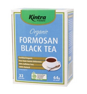 Kintra Foods Formosan Black Tea 32 Filter bags 64g