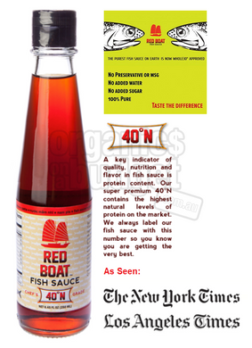Red Boat Fish Sauce 40°N (Paleo Approved) 250ml