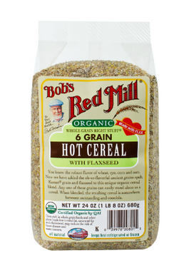 Bob`s Red Mill Organic 6 Grain Right Stuff Hot Cereal 680g