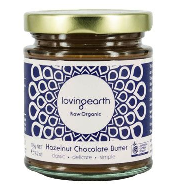 Loving Earth Raw Organic Hazelnut Chocolate Butter 175g
