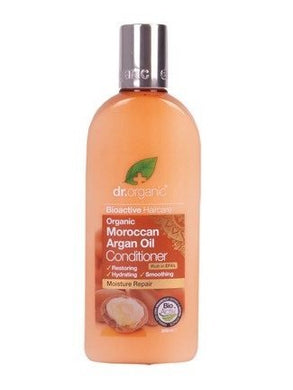 Dr Organic Moroccan Argan Oil Conditioner  265ml
