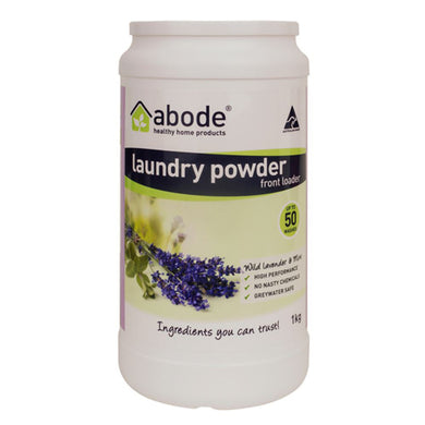 Abode Laundry Powder Wild Lavender And Mint 1kg