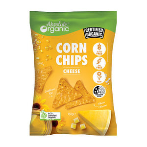 Absolute Organic Cheese Corn Chips 160g