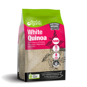 Absolute Organic White Quinoa 1kg