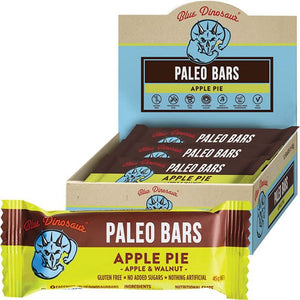 Blue Dinosaur Apple Pie (Paleo Bar) 12x45g