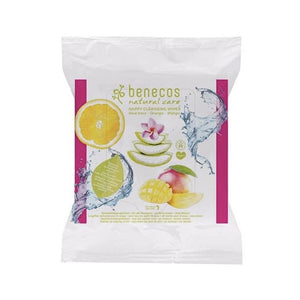 Benecos Happy Facial Cleansing Wipes - 25 Pack