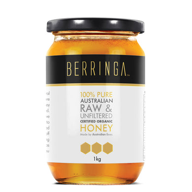Berringa Raw Organic Honey 1kg