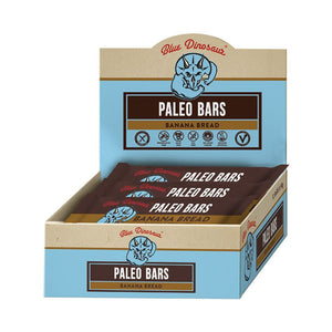 Blue Dinosaur Banana Bread (Paleo Bar) 12x45g
