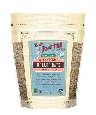 Bob's Red Mill Organic Quick Cooking Rolled Oats BULK 4 x453g