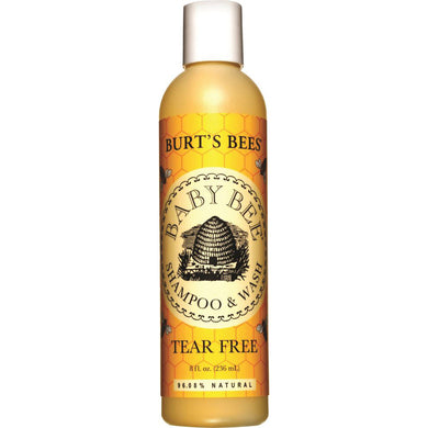 Burts Bees Baby Bee Shampoo and Body Wash Tear Free 236ml