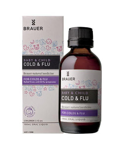 Brauer Baby and Child Cold and Flu 100ml