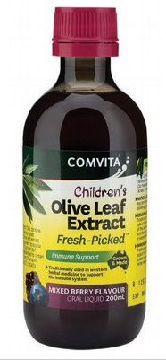 Comvita Olive Leaf Extract Children's (Mixed Berry) 200ml