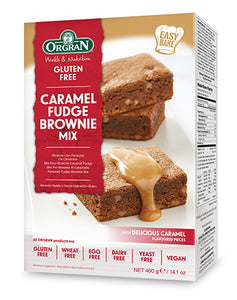 Orgran Gluten Free Brownie Mix Caramel Fudge 400g
