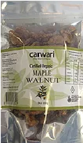 Carwari Organic Maple Walnuts 100g