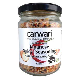 Carwari Organic Japanese Spicy Seasoning 100g