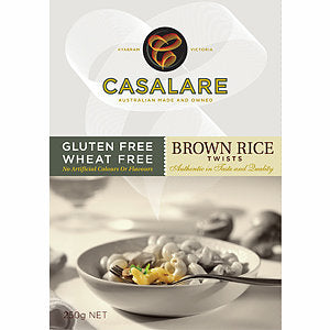 Casalare Gluten Free Brown Rice Twists 250g
