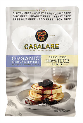 Casalare Gluten Free Sprouted Brown Rice Flour 500g