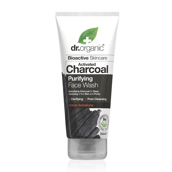 Dr Organic Activated Charcoal Face Wash 200 ml