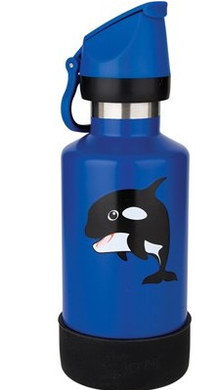 Cheeki Kids Bottle Insulated Orca Whale 400ml