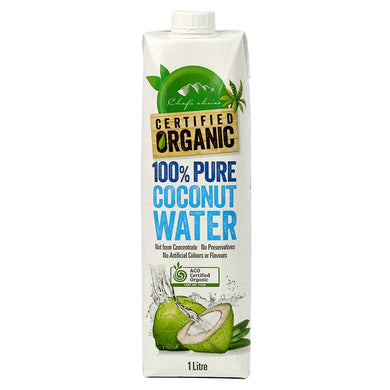 Chef's Choice Organic Coconut Water 1L