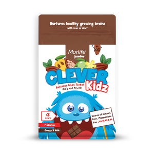 Morlife Clever Kidz Chocolate Drink 150g