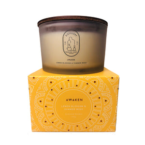 Distillery Fragrance House Soy Candle Awaken (Lemon Blossom & Summer Moss) 450g