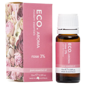 ECO Aroma Essential Oil Rose (3%) 10ml