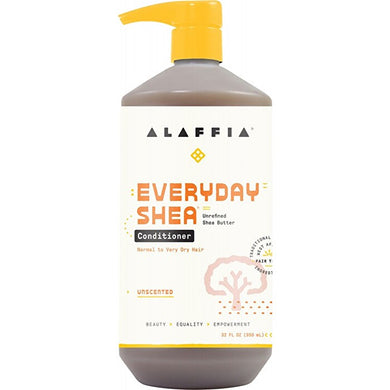 Alaffia Everyday Shea Unscented Conditioner 950ml