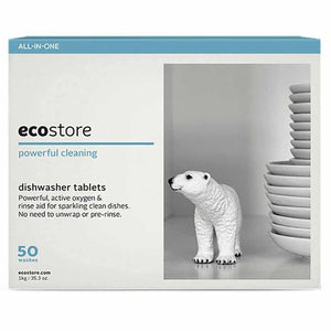 Ecostore Fragrance Free Auto Dishwash 50 Tablets